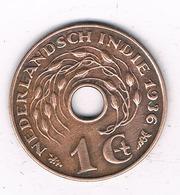 1 CENT 1936 NEDERLANDS INDIE /4678G/ - [ 4] Colonies