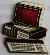 ORDINATEUR - PC - ORDI - CLAVIER - ECRAN ROUGE - TABLO  PARIS -                 (12) - Computers