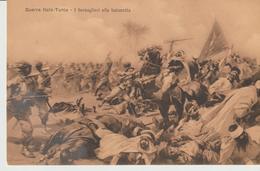 436-Tripoli-Libia-Africa-ex Colonie Italiane-Militaria-Guerra Italo-Turca-I Bersaglieri Alla Baionetta - Libya