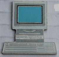 ORDINATEUR - PC - ORDI - CLAVIER - BROTHER N° 2  - ECRAN BLEU CLAIR - SWISS MADE LIMITED - 1000 EX -        (12) - Computers
