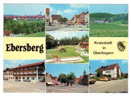 Ebersberg, Oberbayern Kreisstadt, Mehrbild, Gelaufen - Ebersberg