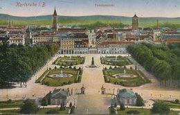 005000  Karlsruhe - Totalansicht  1919 - Karlsruhe