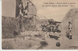 438-Tripoli-Libia-Africa-ex Colonie Italiane-Militaria-Guerra Italo-Turca-Marinai Italiani Di Guardia - Libya