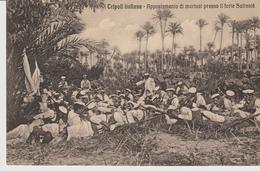 439-Tripoli-Libia-Africa-ex Colonie Italiane-Militaria-Guerra Italo-Turca-Appostamento Di Marinai Presso Forte Sultaniè - Libya