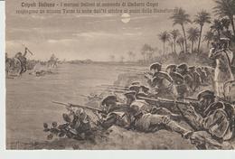 440-Tripoli-Libia-Africa-ex Colonie Italiane-Militaria-Guerra Italo-Turca-I Marinai Al Comando Di Umberto Cagni - Libya