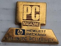 ORDINATEUR - PC - ORDI - CLAVIER - ECRAN - HP - HEWLETT PACKARD - PC MAGAZINE - JOURNAL - ZEITUNG  - TOSCA -    (12) - Computers