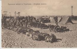 442-Tripoli-Libia-Africa-ex Colonie Italiane-Militaria-Guerra Italo-Turca-Artiglieria Montata - Libya