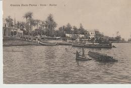 443-Tripoli-Libia-Africa-ex Colonie Italiane-Militaria-Guerra Italo-Turca-Derna-Marina-Barche - Libya