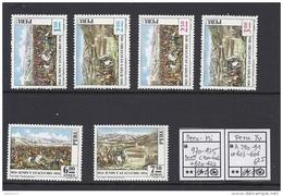 Peru - Pérou - Junin - Ayacucho - Yv 603-606 + A388-389 - Mi 970-975 - Sc 620-623 + C401-2 - MNH - Postfrisch - Neuf ** - Pérou