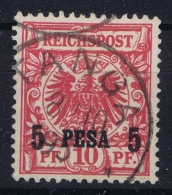 Deutsch Ostafrika Mi  3 IIc  Obl./Gestempelt/used  TANGA Surcharge 14.4 Mm No Price Listed In Michel - Colony: German East Africa