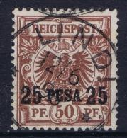 Deutsch Ostafrika Mi 5 Obl./Gestempelt/used  LINDI Stempel 31 - Kolonie: Deutsch-Ostafrika