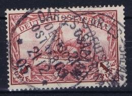 Deutsch Ostafrika Mi  19 Obl./Gestempelt/used  CDS Dar-es-Salaam Signed/ Signé/signiert/ Approvato Steuer - Kolonie: Deutsch-Ostafrika