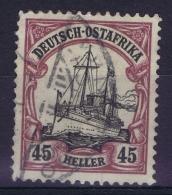 Deutsch Ostafrika Mi  28b Rotviolet Schwarz Obl./Gestempelt/used  Signed/ Signé/signiert/ Approvato - Kolonie: Deutsch-Ostafrika