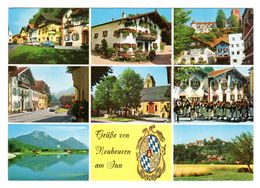 Neubeuern Am Inn, Lk Rosenheim,  Mehrbild, Gelaufen 1983 - Rosenheim