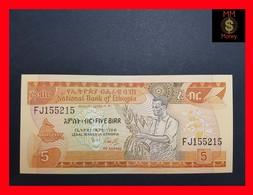 Ethiopia 5 Birr 1991 P. 42 UNC - Ethiopie
