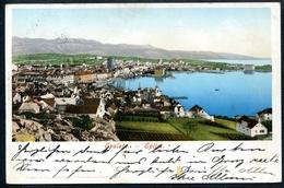 Spalato, Split, 1905, Panorama, LITHO, Purger & Co., - Croatia