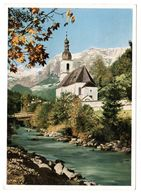 Ramsau Bei Berchtesgaden, Kirche, Gelaufen 1964 - Berchtesgaden