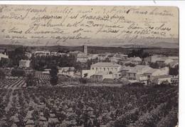 GINESTAS ,,,,    VUE  GENERALE ,,,,  VOYAGE  1907,,,, - Frankreich