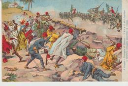 450-Tripoli-Libia-Africa-ex Colonie Italiane-Militaria-Guerra Italo-Turca-Battaglia Di Zanzur-6° E 40° Fucilieri - Libya