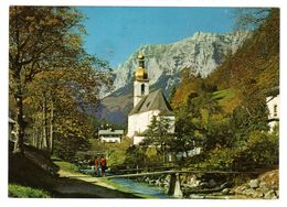 Ramsau , Kirche In Den Alpen, Gelaufen 1985 - Berchtesgaden