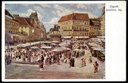 Zagreb, Jelacicev  Trg., B.K.W.I., 270-5, Kugli - Croatia