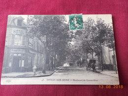 CPA - Epinay-sur-Seine - Boulevard De Gennevilliers - France