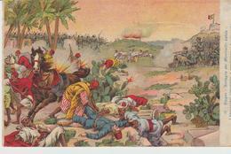 451-Tripoli-Libia-Africa-ex Colonie Italiane-Militaria-Guerra Italo-Turca-Battaglia Di Monticelli-Lebda-I Bersaglieri... - Libya
