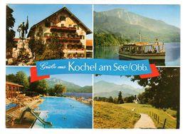 Kochel Am See, Lk Bad Tölz, Mehrbild Gelaufen 1983 - Bad Toelz