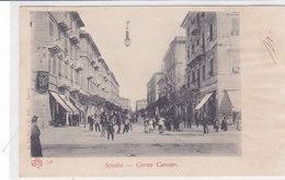 CARD LA SPEZIA CORSO CAVOUR ANIMATO -FP-V-2-0882-28247 - La Spezia