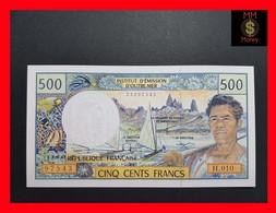 French Pacific Territories (CFP) 500 Francs 2002 P. 1 Sign. 8 UNC - Territoires Français Du Pacifique (1992-...)
