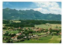 Übersee Am Chiemsee, Luftbild, Gelaufen 1978 - Traunstein