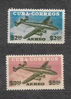 #282# YVERT PA 118/119 MNH**. AIRPLANE, AVION. - Airmail