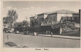 455-Asmara-Eritrea--Africa-ex Colonie Italiane.Teatro-Storia Postale 25c.-v.1939 X Catania - Libya