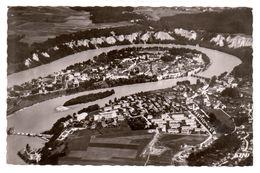 Wasserburg / Inn Landkreis Rosenheim, Luftbild 140x90, Gelaufen 1958 - Rosenheim
