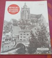 Revue Des Usagers De La Route Octobre 1934 Dôle Notre Dame Canal Des Tanneurs,Salon Auto 1934 Sécurité Nouveautés - Auto