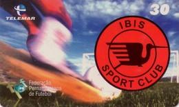 TARJETA TELEFONICA DE BRASIL (FUTBOL, IBIS SPORT CLUB, 04-05/00). TIRADA 30000 (476) - Brasil