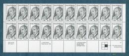 29 Cent Dean Acheson Issue - Scott# 2755 - Plate Block Strip Of 20 [#4619] - Plate Blocks & Sheetlets