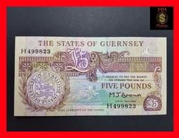 Guernsey 5 £ 1991 P. 53 UNC - Guernsey