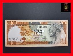 Guinea-Bissau 5.000 Pesos 12.9.1984  AU - Guinea-Bissau
