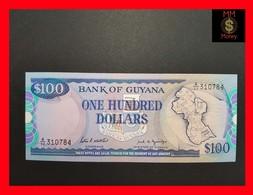 Guyana 100 $ 1989  P. 28  UNC - Guyana