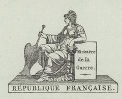 Ministère De La Guerre Paris An 12 – 30.5.1802 Ets.Militaire Héraldique - Documentos Históricos