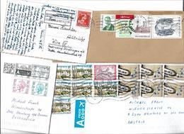5025j: Varia 4 Belgien- Belege Aus Sammlerkorrespondenz - Belgien