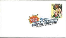 ESTADOS UNIDOS USA 2006 FDC SUPER HEROES DC COMICS - Stripsverhalen
