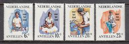 Netherlands Antilles MNH NVPH Nr 376/79 From 1966 - Curaçao, Nederlandse Antillen, Aruba