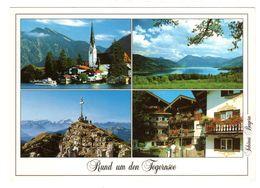 Rottach-Egern - Tegernseetal Mehrbild, Gelaufen 1988 - Tegernsee
