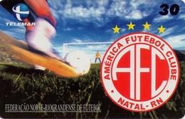 TARJETA TELEFONICA DE BRASIL (FUTBOL,AMERICA FUTEBOL CLUBE, 04/2000). (482) - Brasil