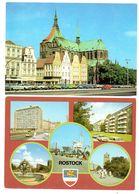 Rostock 1986,1988 Zwei AK Ungelaufen - Rostock