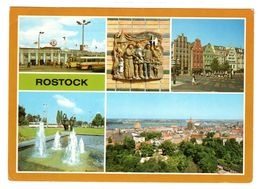 Rostock Mehrbild , Gelaufen 1987 - Rostock