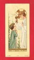 Image Religieuse & Pieuse  ... Communion De MME MAZEN NOËL  Eglise De DOUVRES - Images Religieuses