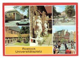 Rostock Universitätsplatz, Mehrbild Gelaufen - Rostock